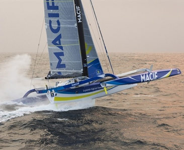 Francois Gabart do Volvo Ocean Race?